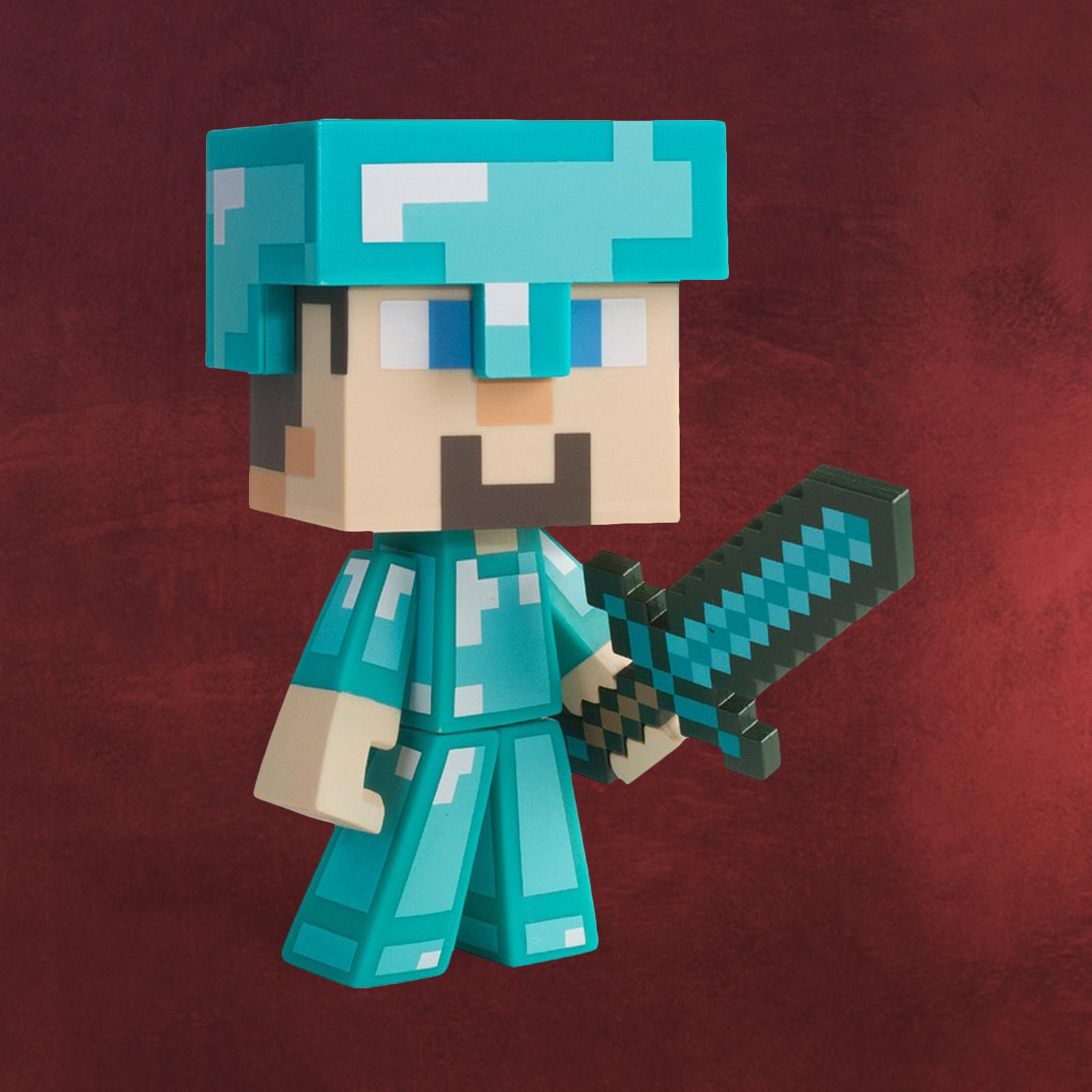 Minecraft Steve Figur Diamond Edition