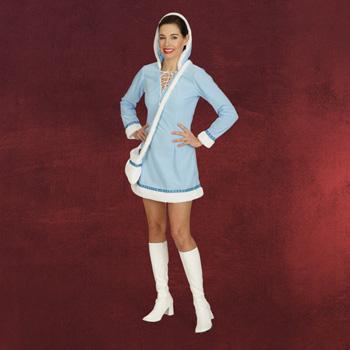 Eskimo Kleid Polar Damenkostüm