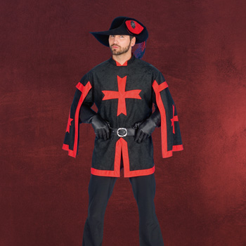 Musketier Tunika Herren Kostüm
