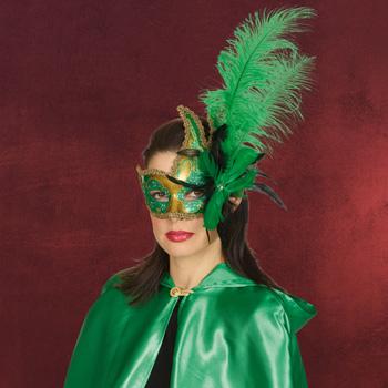 Venezia Maske gr�n