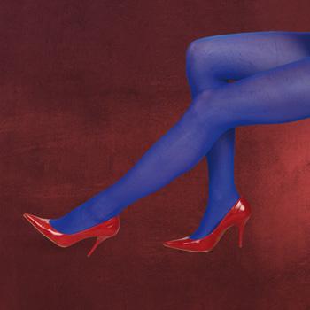 Schlumpf Strumpfhose blau