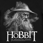 Hobbit - An Unexpected Journey Gandalf T-Shirt