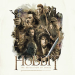 Hobbit Desolation of Smaug - Poster T-Shirt creme