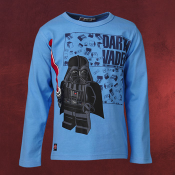 LEGO Star Wars - Darth Vader Power Longsleeve Kinder blau