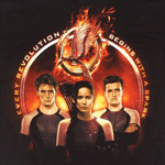 Tribute von Panem - Catching Fire Trio Girlie Shirt
