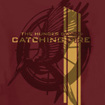 Tribute von Panem - Catching Fire Logo T-Shirt