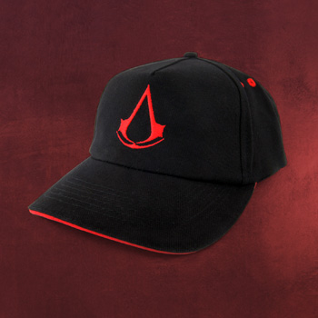 Assassins Creed - Logo Basecap schwarz