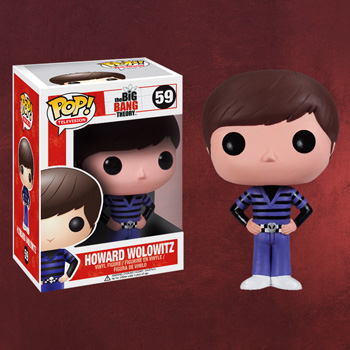 Big Bang Theory - Howard Wolowitz Mini-Figur