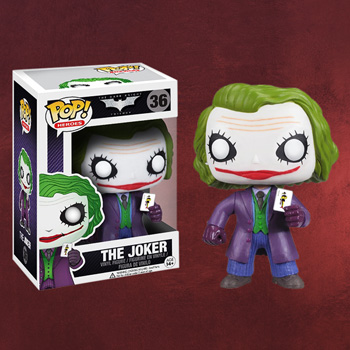 Batman The Dark Knight - Joker Pop Heroes Mini-Figur