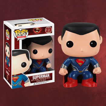 Superman - Pop Heroes Mini-Figur