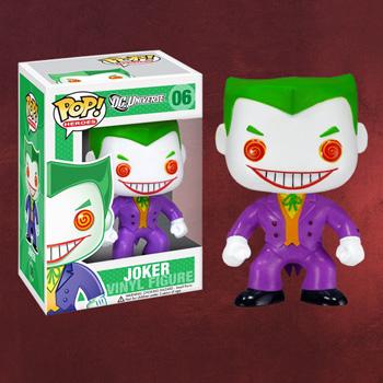 Batman - Joker Pop Heroes Mini-Figur