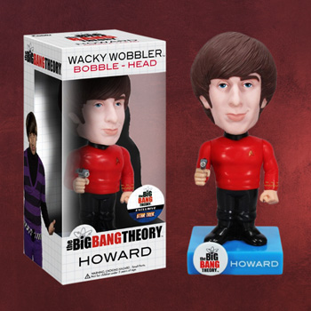 Big Bang Theory - Howard Star Trek Wackelkopf-Figur