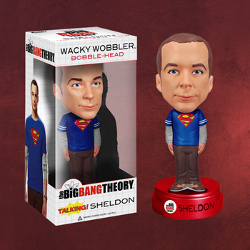 Big Bang Theory - Sheldon Wackelkopf-Figur