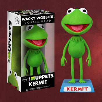 Muppets - Kermit Wackelkopf-Figur