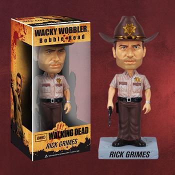 Walking Dead - Rick Grimes Wackelkopf-Figur