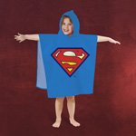 Superman - Badeponcho f�r Kinder