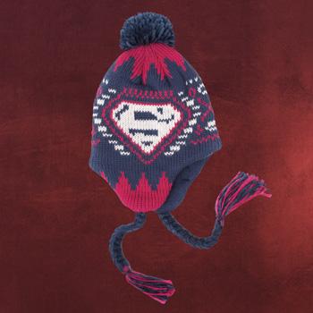 Superman - Logo Inkamütze