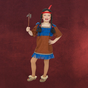 Indianer Kleid Kinderkost�m