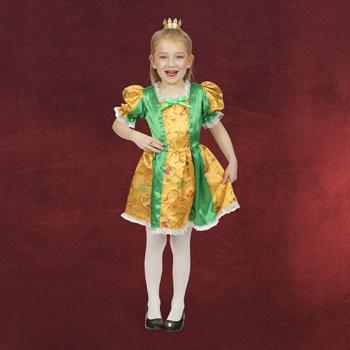 Froschkönigin Kleid Kinderkostüm