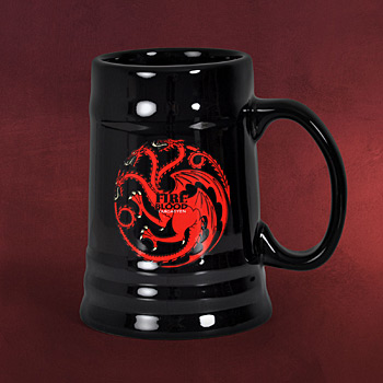 Game of Thrones - House Targaryen Krug schwarz