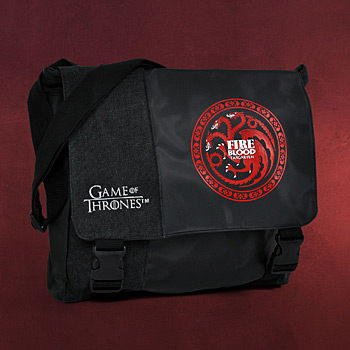 Game of Thrones - Fire & Blood Targaryen Messenger Bag