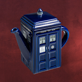 Doctor Who - Tardis Teekanne