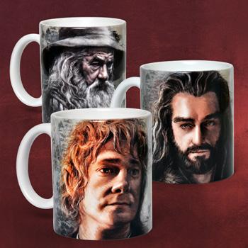 Der Hobbit Tassen-Set Angebot