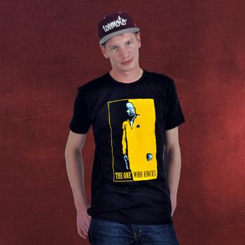 The One Who Knocks - Premium T-Shirt