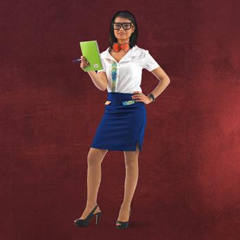 8-Bit Pixel Kostüm Damen