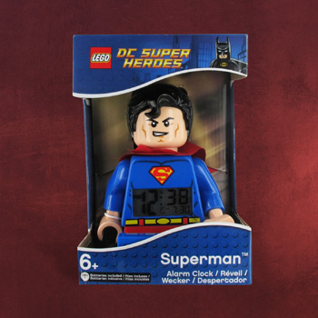 Lego Wecker Superman