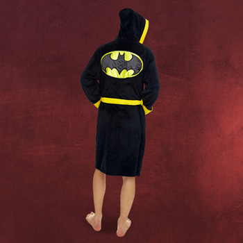 Batman Premium Logo Bademantel mit Kapuze