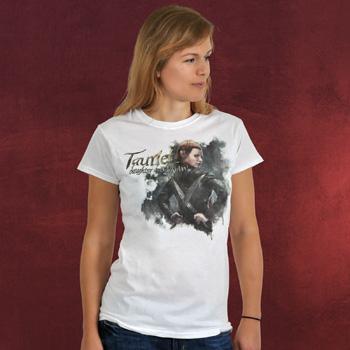 Der Hobbit - Tauriel Girlie-Shirt wei�