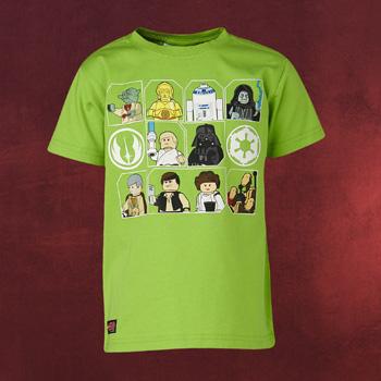 LEGO Star Wars Figuren Kinder T-Shirt grün