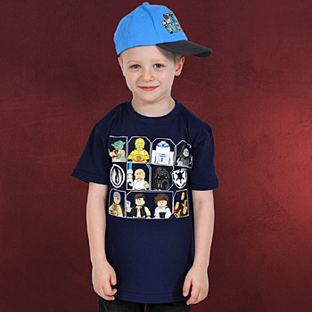 LEGO Star Wars Figuren Kinder T-Shirt