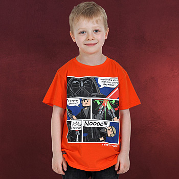 LEGO Wear Star Wars Comic Graphic - Kinder T-Shirt orange