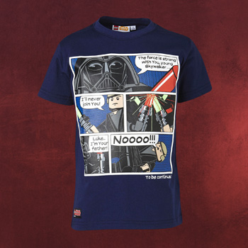 LEGO Wear Star Wars Comic Graphic - Kinder T-Shirt blau