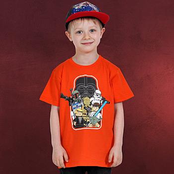 LEGO Star Wars - Kinder T-Shirt orange