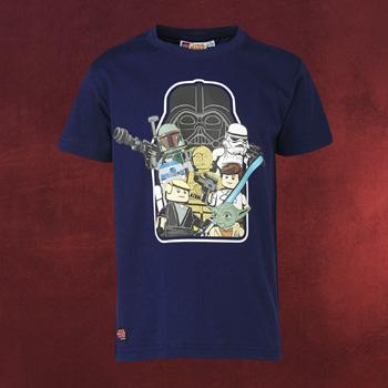 LEGO Star Wars - Kinder T-Shirt blau