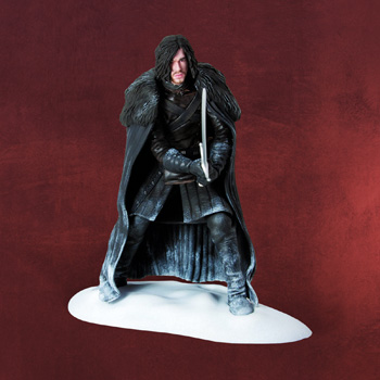 Game of Thrones - Jon Snow Statue mit Schwert Longclaw