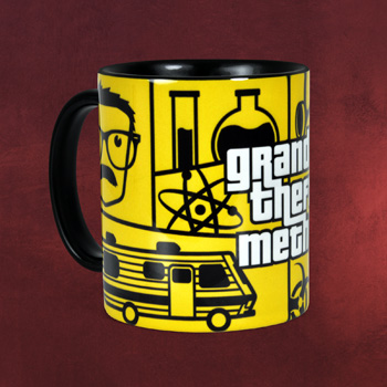 Grand Theft Meth Tasse