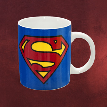 Superman Logo Tasse