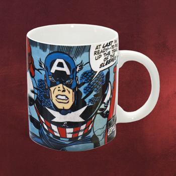 Marvel Captain America Tasse