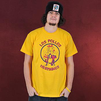 Breaking Bad - Los Pollos Hermanos T-Shirt gelb