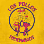Breaking Bad - Los Pollos Hermanos T-Shirt gelb