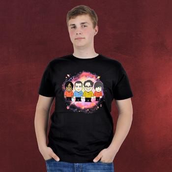 Star Nerds - Toonstar Cartoon T-Shirt