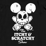 Simpsons - Itchy T-Shirt schwarz