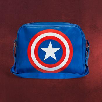 Captain America Logo Tasche