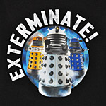 Doctor Who - Exterminate! T-Shirt