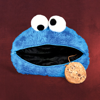 Sesamstra�e - Cookie Monster Kissen