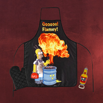 Simpsons - Flammen Grillset